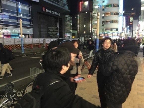 歌舞伎町のキャッチ